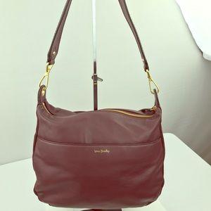 Vera Bradley Geniune Supple Leather handbag Zip